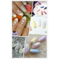 Акриловый порошок пудра блеск для сахарного мармеладного дизайна ногтей