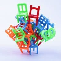 Балансирующие стулья настольная игра Balance Chairs