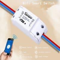 Беспроводной WiFi выключатель света Itead Sonoff Smart Switch