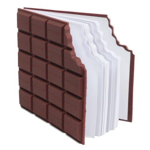 """Блокнот в виде шоколадки """"Плитка шоколада"""""""