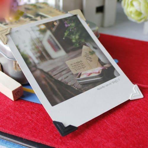 Бумажные анкеры и уголки для крепления фотографий в фотоальбом