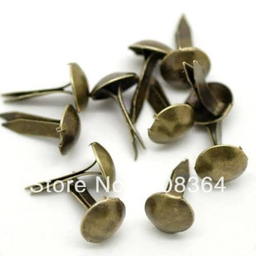Декоративные брадсы гвоздики для скрапбукинга в наборе
