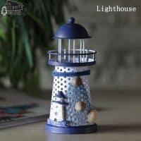 Декоративный светодиодный ночник светильник Ночной Маяк