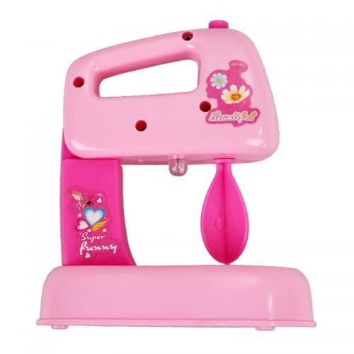 Детская пластмассовая игрушка блендер-миксер для девочек