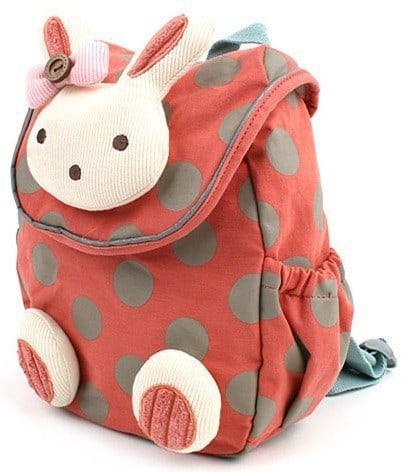 Детский 3D рюкзак с игрушкой заяц/кролик