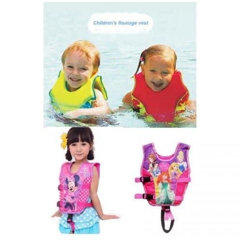 Детский надувной жилет для плавания и купания