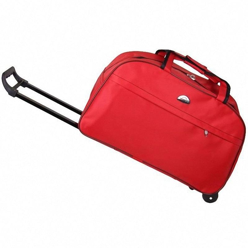 6186c0f4b6a2 Купить Дорожная сумка-чемодан с выдвижной ручкой на колесиках на ...