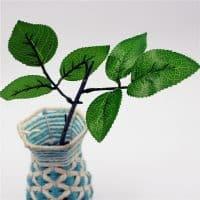 Искусственные ветки деревьев, веточки с листьями для декора интерьера в наборе