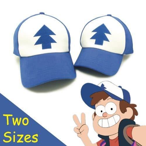 Кепка Диппера и Мейбл из Гравити Фолз (Gravity Falls) для взрослых и детей