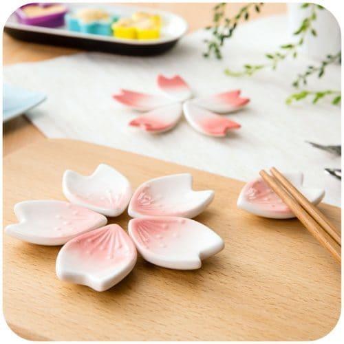Керамическая подставка под палочки для еды суши