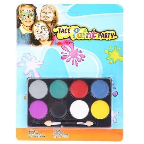 Краски для бодиарта, аквагрима для лица и тела для детей