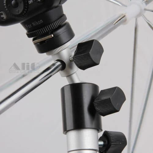 Кронштейн-держатель-головка для вспышки и зонта