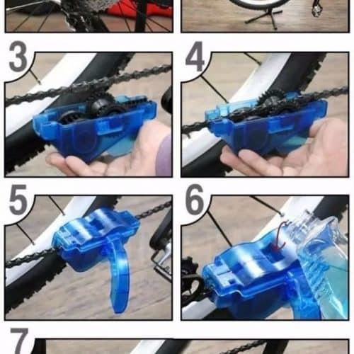 Машинка (цепемойка) для мойки и чистки велосипедной цепи
