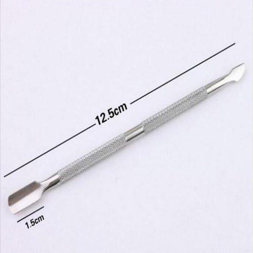Металлический пушер для удаления кутикулы, ногтей, маникюра и педикюра