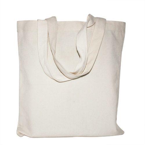 Многоразовая хозяйственная хлопковая ЭКО сумка для продуктов, покупок – 2 шт.