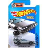 Модель Hot Wheels DeLorean DMC-12 1:64 Back to the Future, машина времени из Назад в будущее