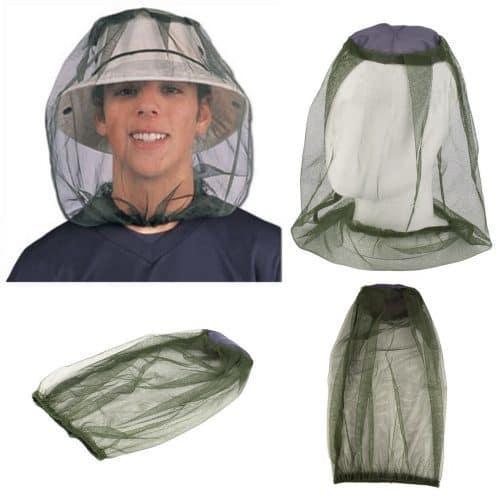 Москитная сетка на голову от комаров