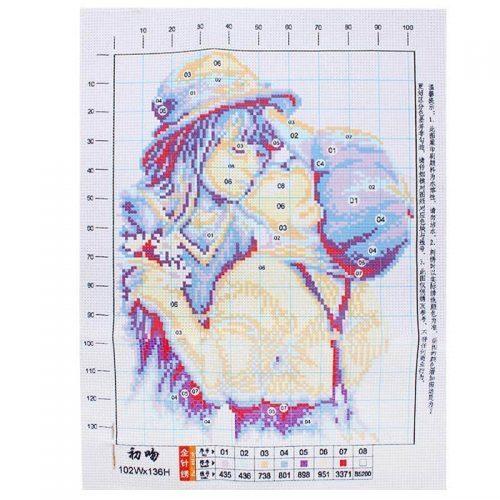 Набор для рукоделия вышивка крестом Первый поцелуй Cross Stitch