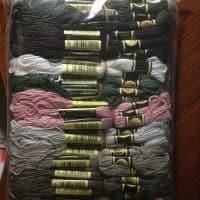 Набор ниток мулине для вышивания крестиком