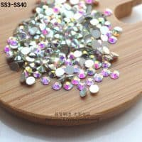 Набор страз-кристаллов для рукоделия, ткани, декора ногтей, маникюра SS3-SS20