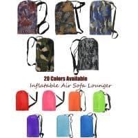 Надувной мешок-кресло, диван-матрас для отдыха на природе