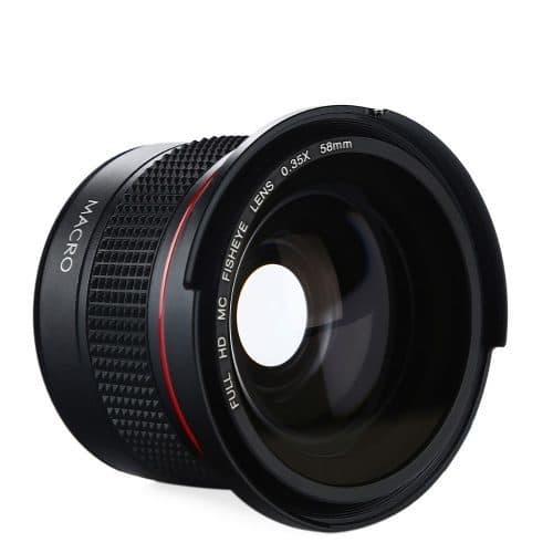 Насадка на объектив Рыбий глаз (Fisheye) для Canon