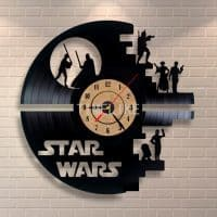 Настенные 3D часы Звездные Войны (Star Wars) кварцевые на батарейках