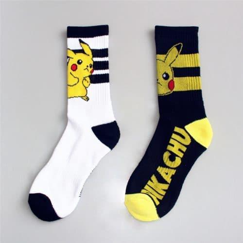 Носки с покемонами (пикачу) хлопковые