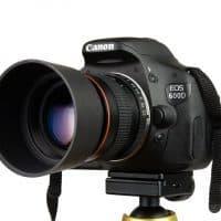Объектив Kelda 85 мм F 1.8 F 22 для Canon