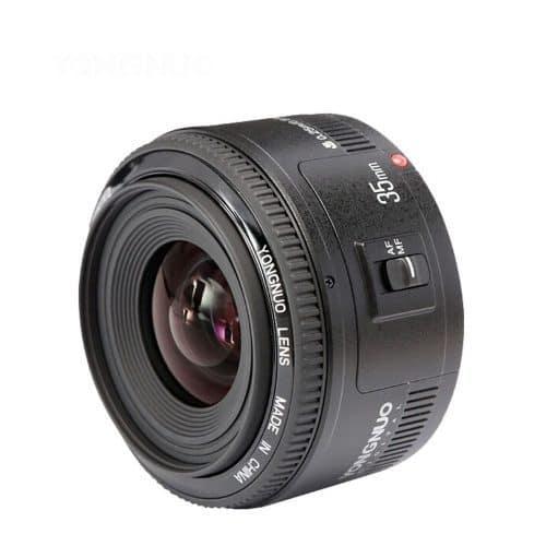 Объектив Yongnuo YN 35 мм F2 для камеры Canon для фотосъемки