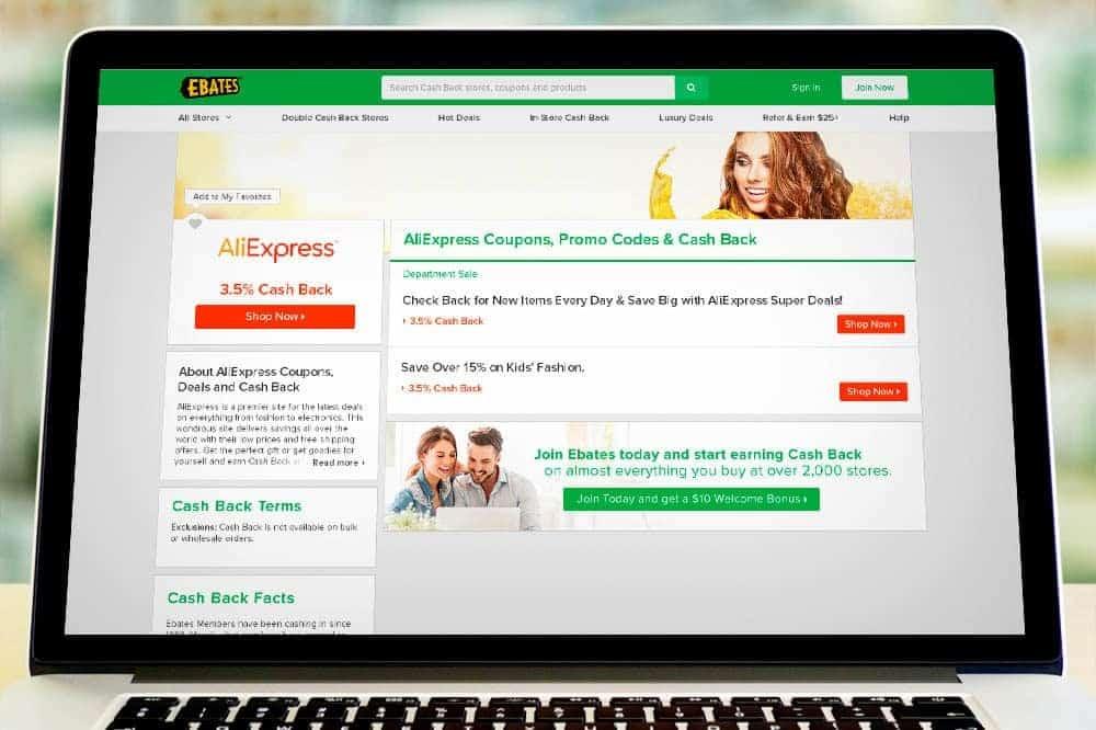 Обзор лучших кэшбэк сервисов Алиэкспресс - Ebates