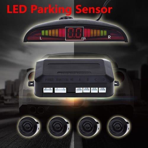 Парктроник радар 4 датчика парковочная система с монитором для автомобиля