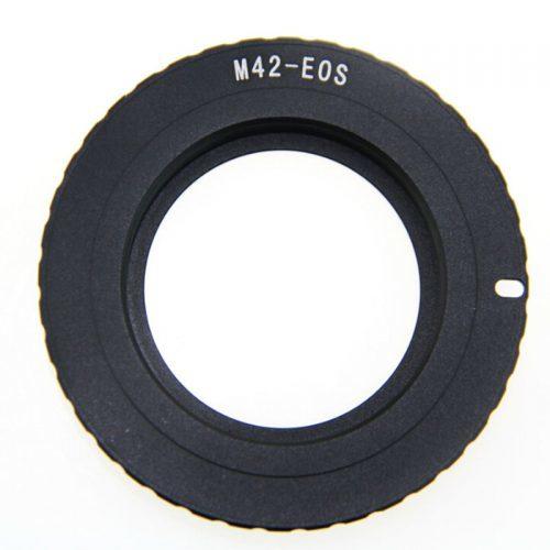 Переходник-адаптер М42 на Canon EOS с чипом