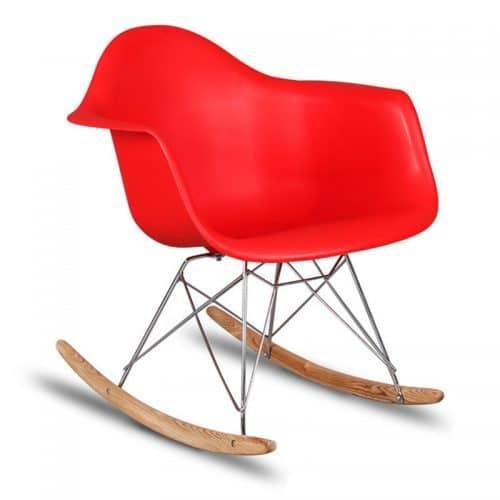 Пластиковое кресло-качалка, стул