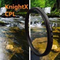 Поляризационный фильтр CPL для объектива Canon, Nikon (49, 52, 55, 58, 62, 67, 72, 77 мм)