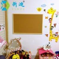 Пробковая доска на стену для заметок, записей, фотографий