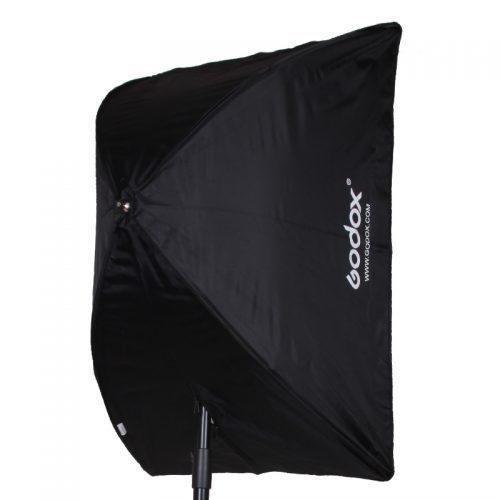 Прямоугольный складной зонтичный софтбокс для вспышки Godox 60х90 см