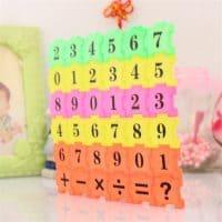 Развивающий умный пазл цифры и счет для детей