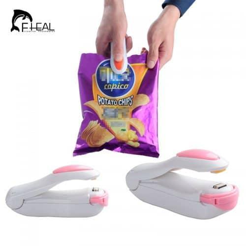 Ручной мини-запайщик, машинка для запайки полиэтиленовых пакетов