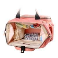 Рюкзак-сумка для молодой мамы и малыша для детских бутылочек, пеленок и подгузников