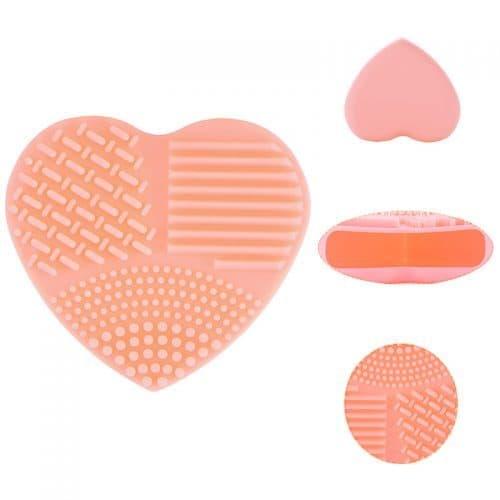 Щетка для мытья, очистки косметических кистей для макияжа