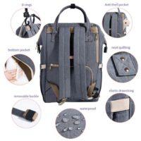 Топ 10 самых популярных рюкзаков для мам с Алиэкспресс - место 9 - фото 2