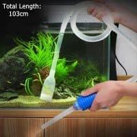 Сифон-трубка-насос для чистки грунта аквариума