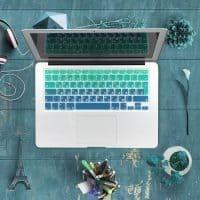 Силиконовая накладка на клавиатуру MacBook Air, Pro 13, 15 c Retina