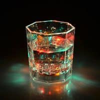 Стакан для виски со светодиодной подсветкой дна