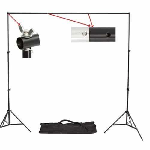 Стойка держатель для фона в фотостудию