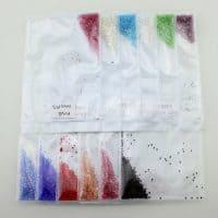 Стразы кристаллы пикси для дизайна ногтей, маникюра размер ss3 1440 шт