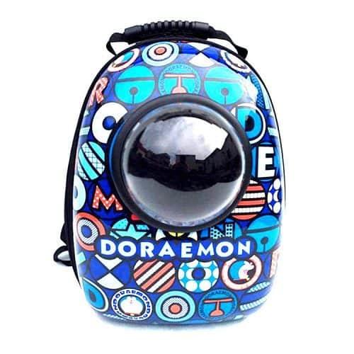 Космический рюкзак с выпуклым окошком для переноски кошек и собак мелких пород