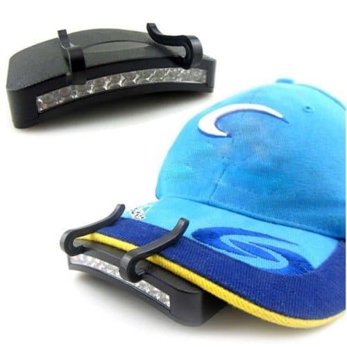 Светодиодный фонарик на козырек кепки 11 светодиодов