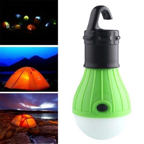 Светодиодный подвесной фонарь-лампочка для освещения палатки туристический